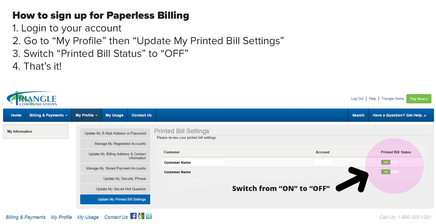 paperless billing research Our solar research site faqs  simplify your life by switching to paperless today paperless billing is secure, convenient and free with paperless billing you can.